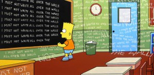 The Simpson's intro by Banksy 1