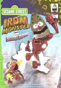 Sesame Street Iron Monster and Sesame Heroes
