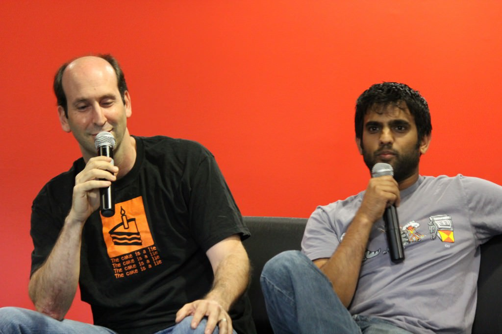 Jeff Lewis and Sandeep Parikh of The Guild
