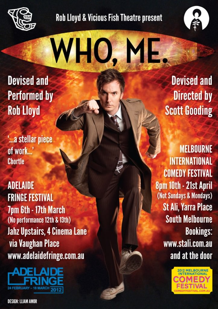 Who Me poster featuring Rob Lloyd