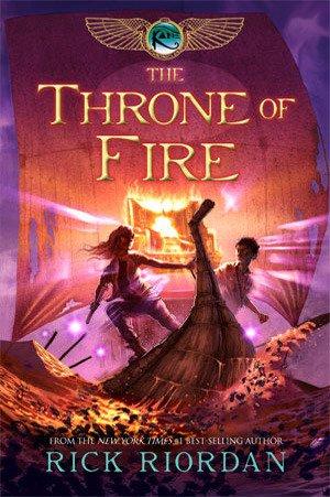 Throne of Fire by Rick Riordan