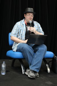 Brandon Sanderson reading from 'Legion'