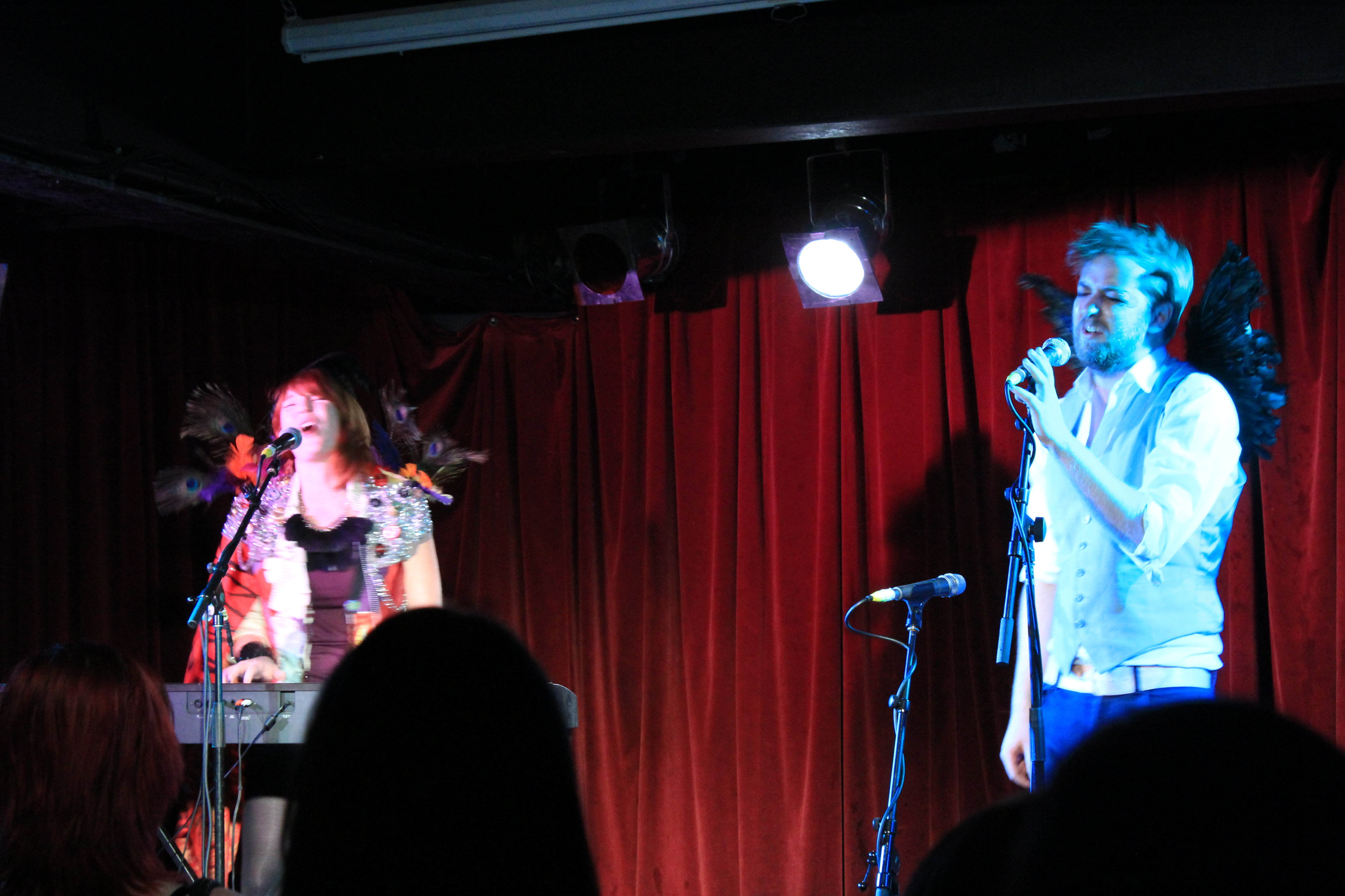 Jen Kingwell and Tom Dickins