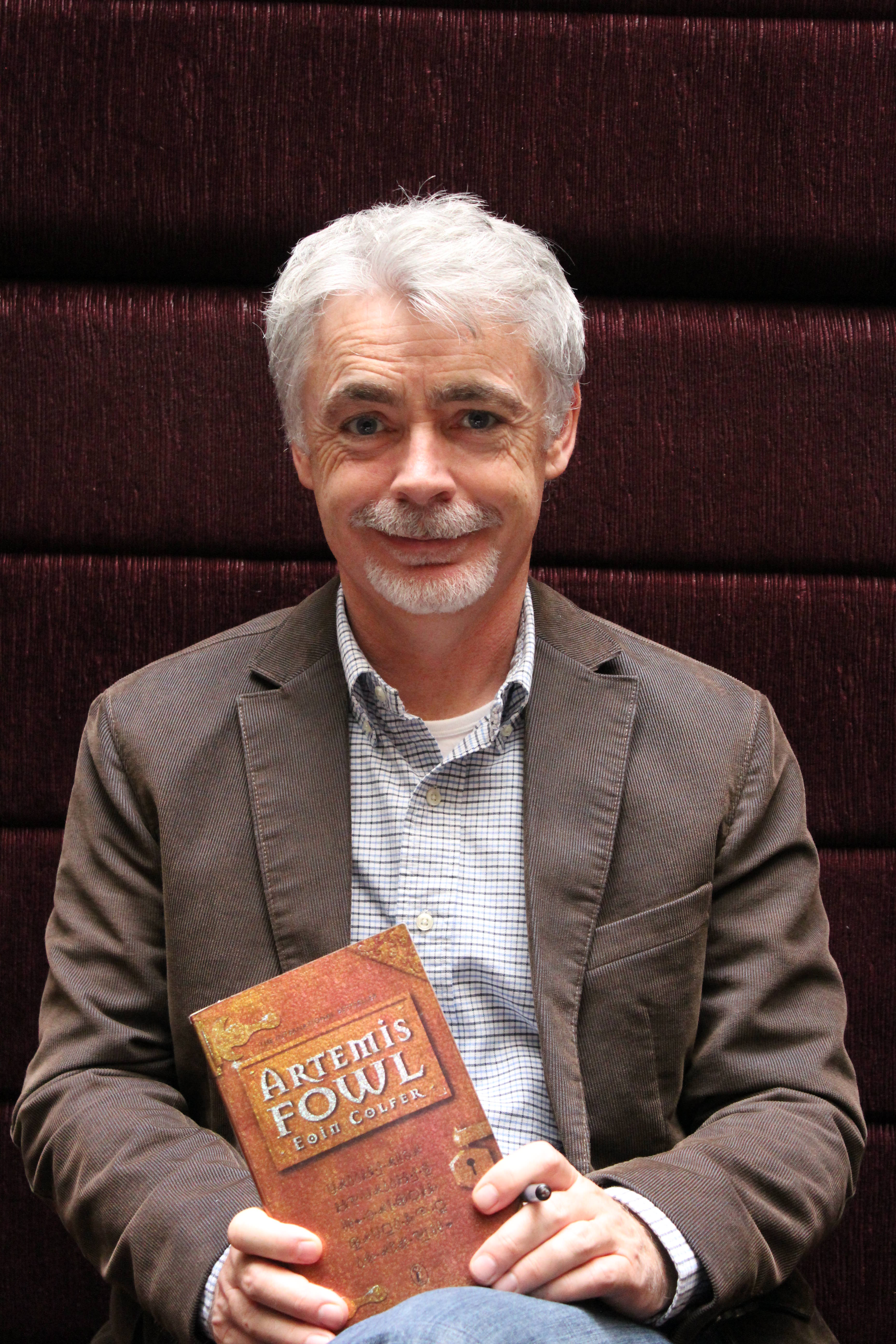 Eoin Colfer in Melbourne
