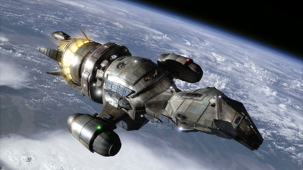 The Serenity is a Firefly-class ship
