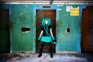 Cosplayer:  Angie Series:  Love Is War [Eager Love Revenge] Character:  Miku Hatsune