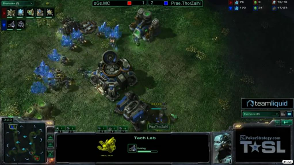 Daniel Haynes: Starcraft 2 analysis of Prae.ThorZain's bio-expand variation