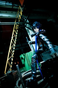 Cosplayer:  Jo Series:  Black Rock Shooter [Kaito ver.] Character: Kaito