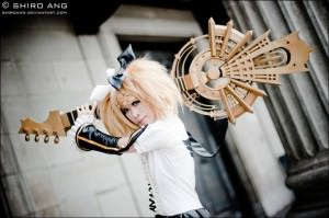 Cosplayer:  Cvy Series:  Meltdown [Hard R.K. Mix] Character:  Rin Kagamine