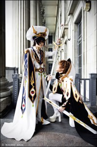 Cosplayer:   Lynn, Lenneth Series:  Code Geass [Mutuality Artwork] Character:  Lelouch, Suzaku