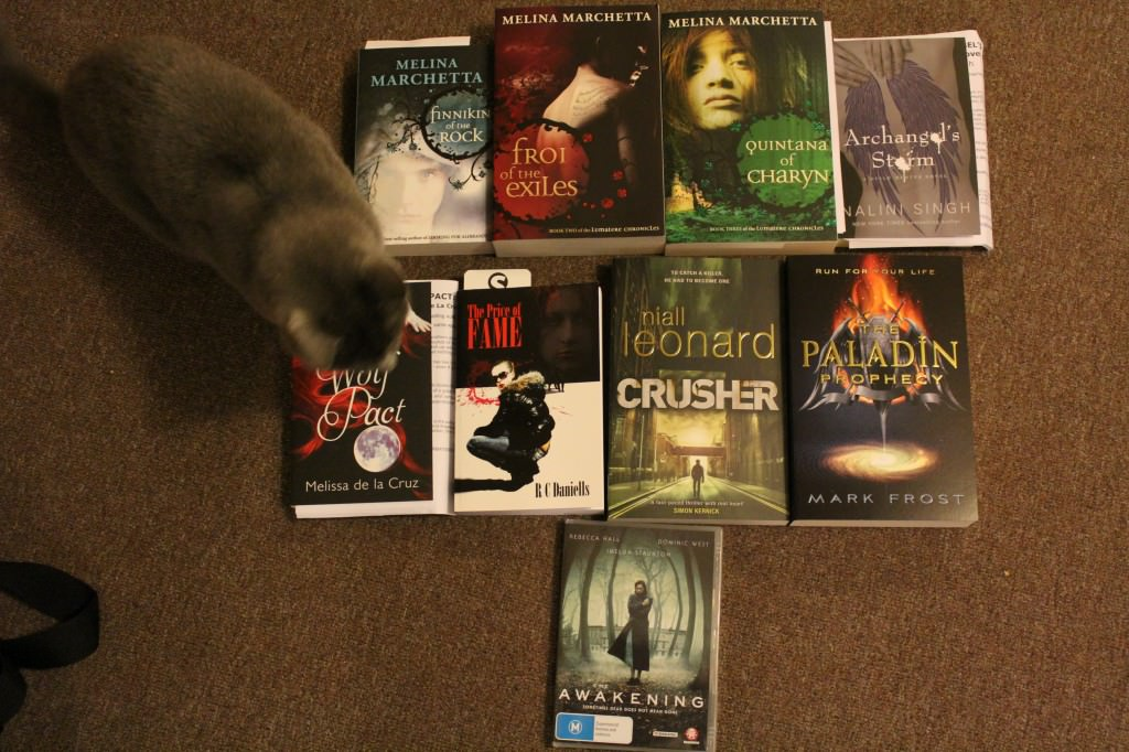 Smokey presents science fiction and fantasy received recently