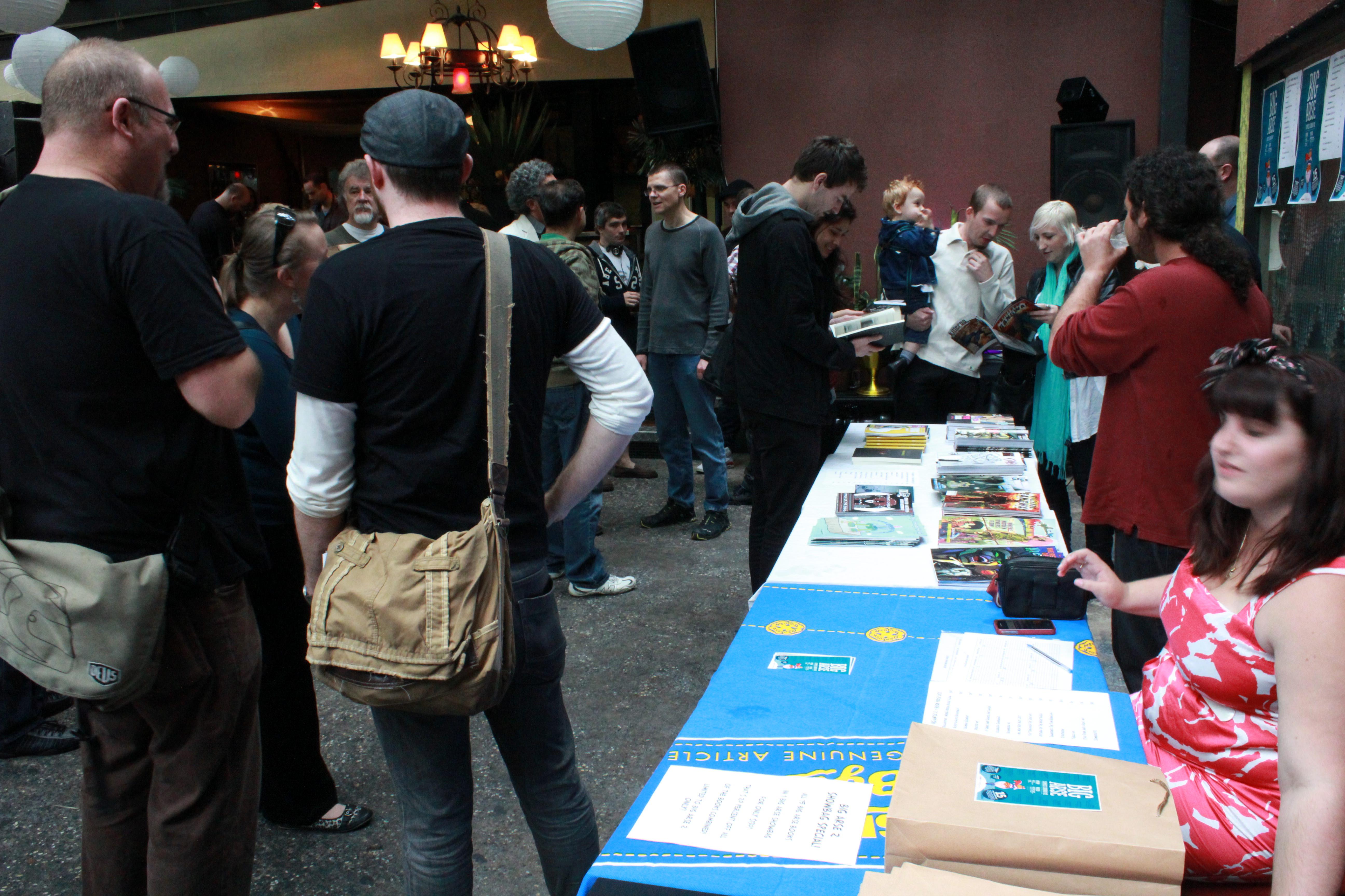 Big Arse Comic Book launch 2012