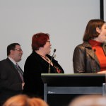 Ian Mond, Sue Ann Barber and Kathleen Jennings