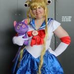 Caroline Slocombe as Sailor Moon