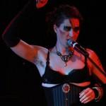 Amanda Palmer performs, photo by Nalini Haynes, Dark Matter issue 08 cover Amanda Palmer