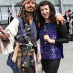 Brett Butt as Captain Jack with Isobelle Carmody