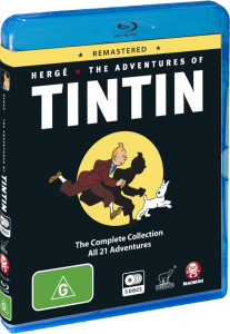 Adventures of Tintin remastered