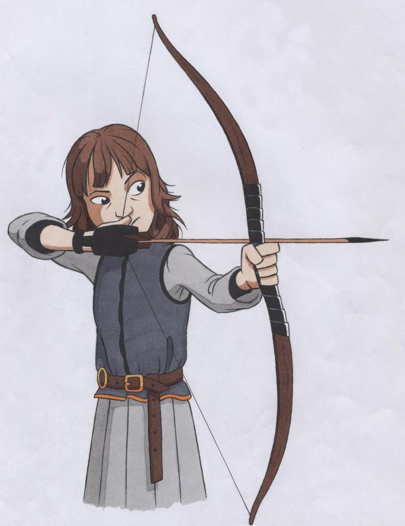 Bran Stark: art by Ben Grimshaw