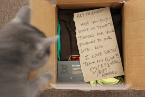 Smokey discovers fan-mail - and it's not for her!