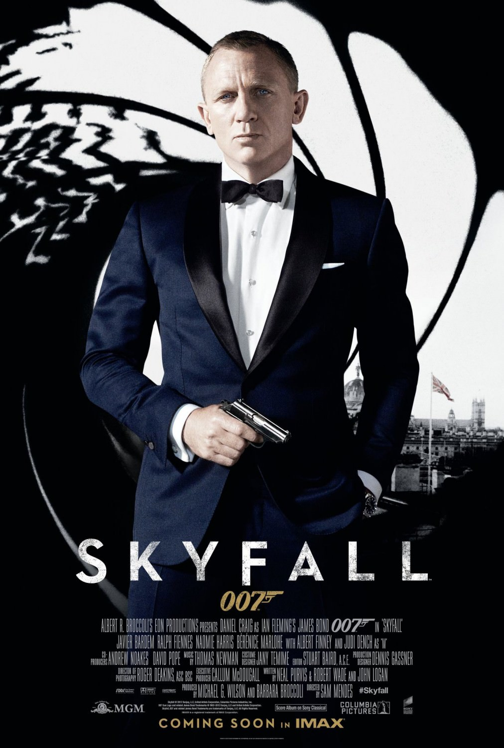 Skyfall Classic Poster