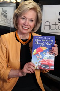 Kathryn Leigh Scott with her book