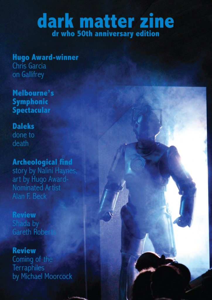 Dark Matter Zine: Doctor Who Special Edition