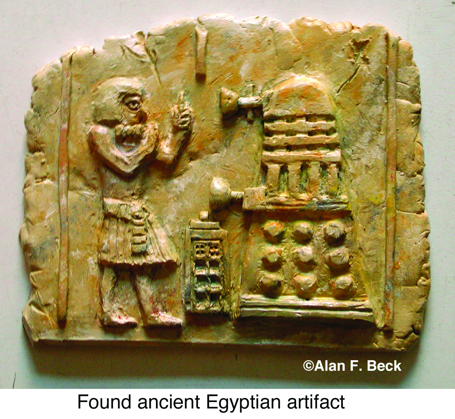Doctor Who fanfic: Archaeological find