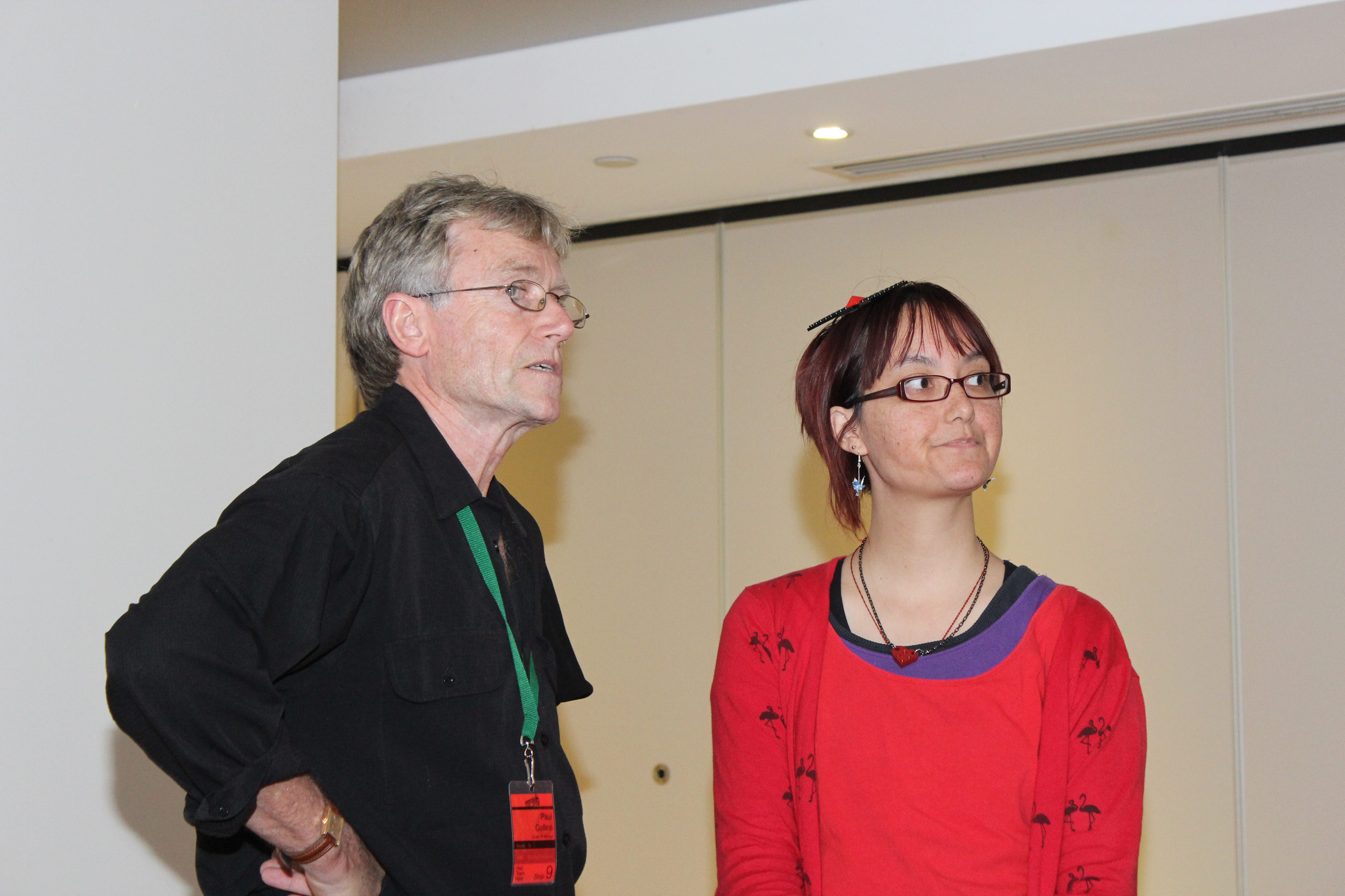 Paul Collins and Stephanie Lai