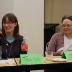Tsana Dolichva and Sue Burstynski facing the Rise of the Dystopia
