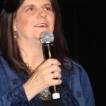 Jana Oliver, internationally renowned author, at Supanova's opening ceremony