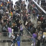 Supanova floor early on Saturday. Later it got crowded.