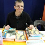Bruce Mutard, award-winning comic book author and artist, in artists' alley