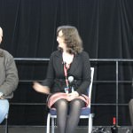 Colin Taber, Trudi Canavan and Raymond E. Feist