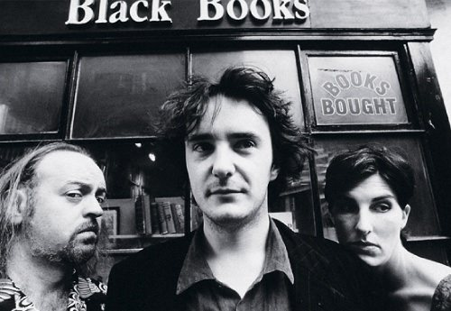Manny, Bernard and Fran from Black Books