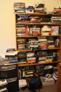 Shelfie: This is the only bookshelf in the actual office - NEED MOAR BOOKSHELVES