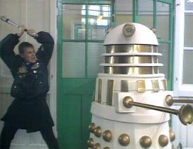 Ace and the dalek