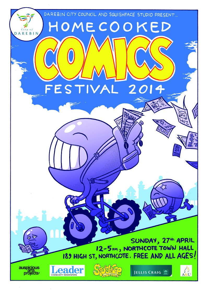 Homecooked comics festival 2014
