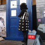 Tardis, dalek and K9