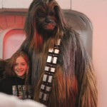 Chewbacca with friend