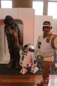 Chewie, R2 and Hothest Rebel Mark Dickson