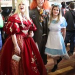 Queen of Hearts, Mad Hatter and Alice in Wonderland
