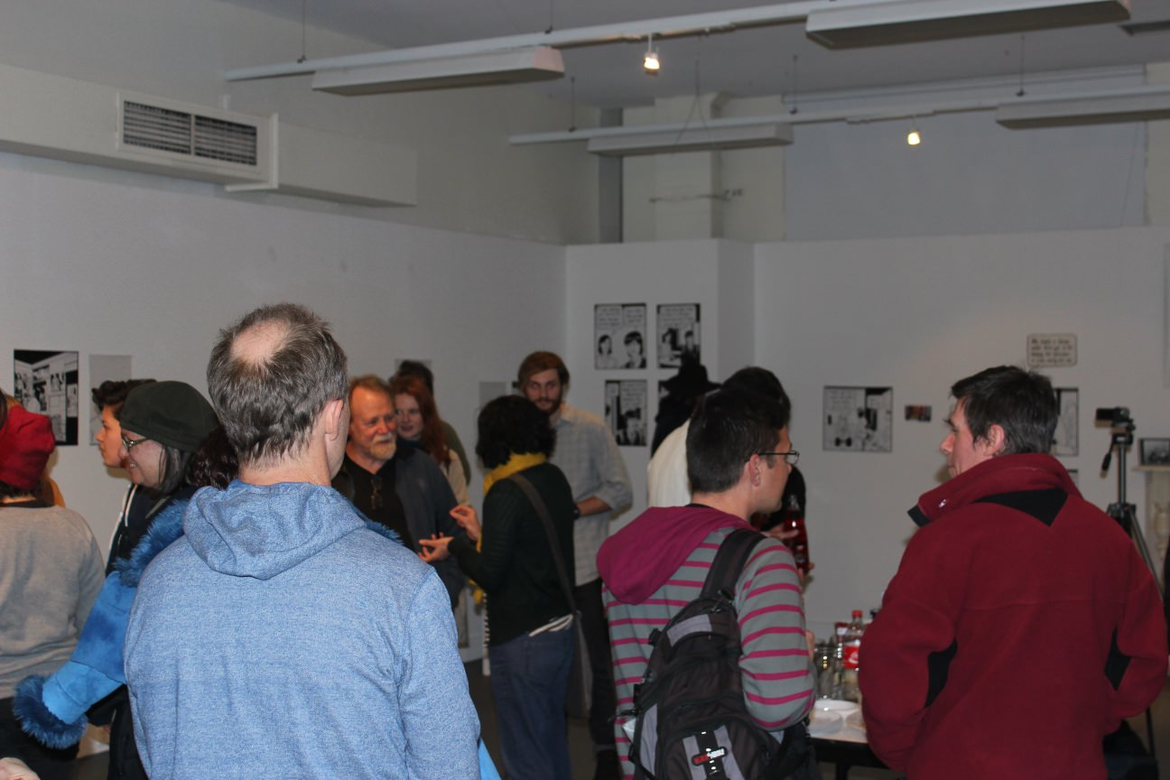 Bruce Mutard: Words Into Pictures Launch