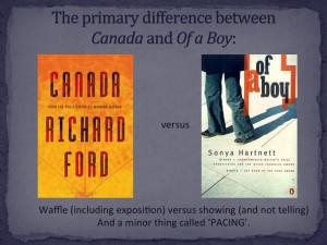 Primary differences between Canada and Of a boy: