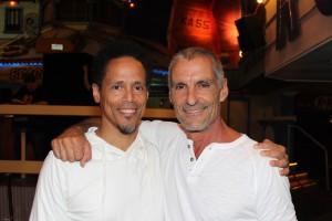 Peter Williams (Apophis) and Cliff Simon (Ba'al)