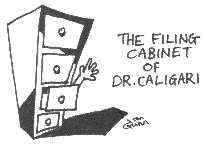 The Filing Cabinet of Dr Caligari