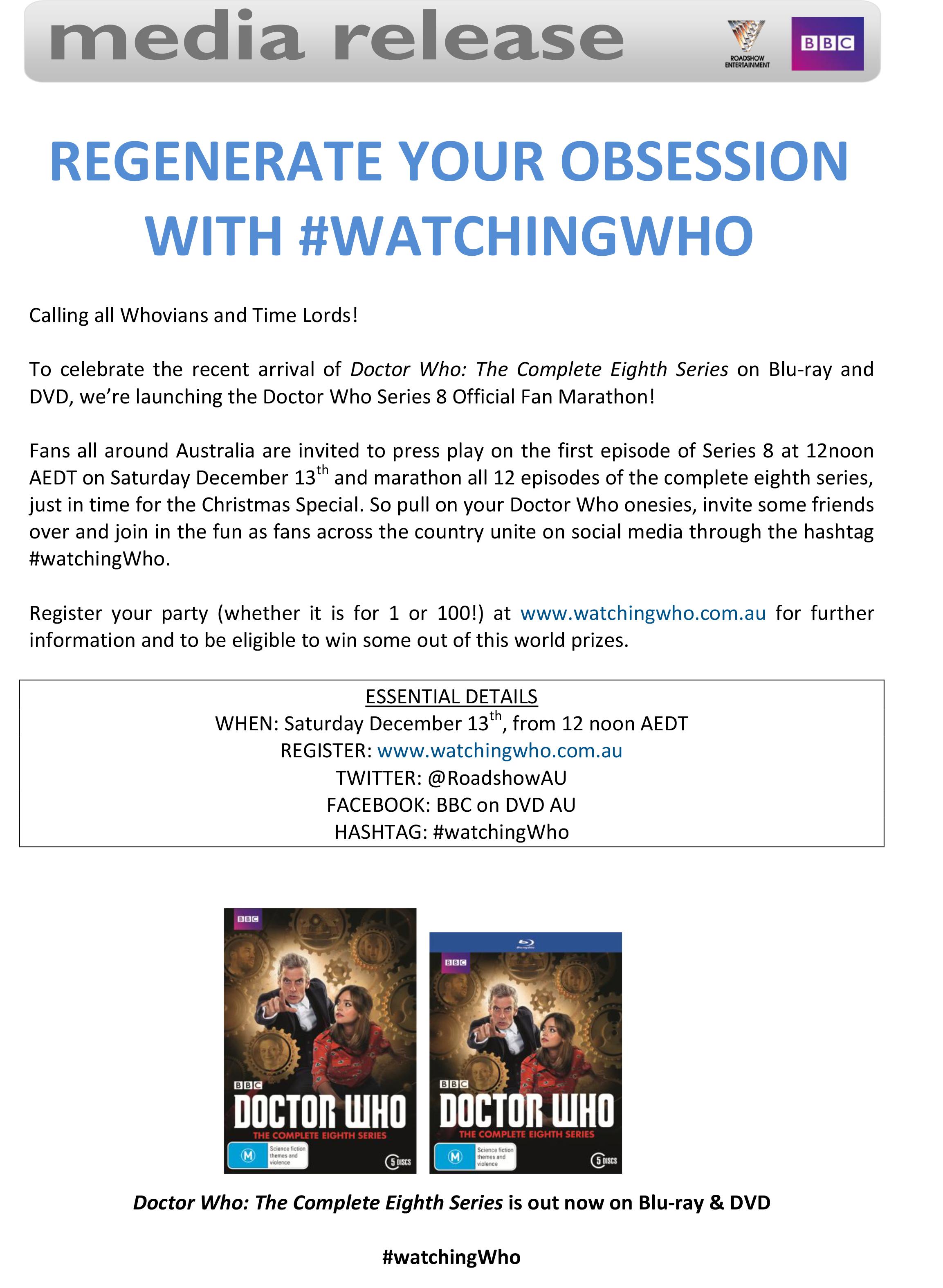 doctor who fan marathon