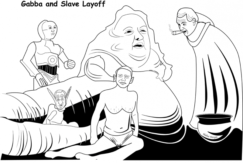 Gabba and Slave Layoff