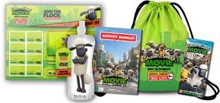 Shaun the Sheep Prize Pack Activity Booklet Tix Image 936x439