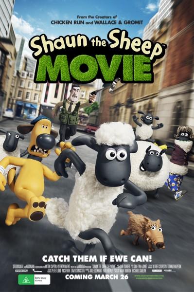 Shaun the Sheep chase art