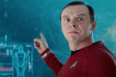 Simon Pegg in Star Trek
